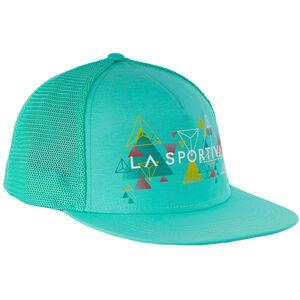 La Sportiva Vertriangle Trucker Hat Dam emerald emerald