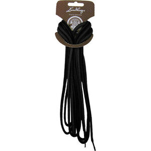 Lundhags Shoe Laces 180 cm black black