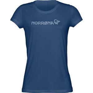 Norrøna /29 Tech T-shirt Dam indigo night indigo night