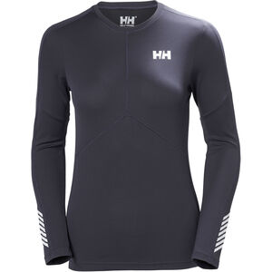 Helly Hansen Lifa Active Light LS Shirt Dam graphite blue graphite blue