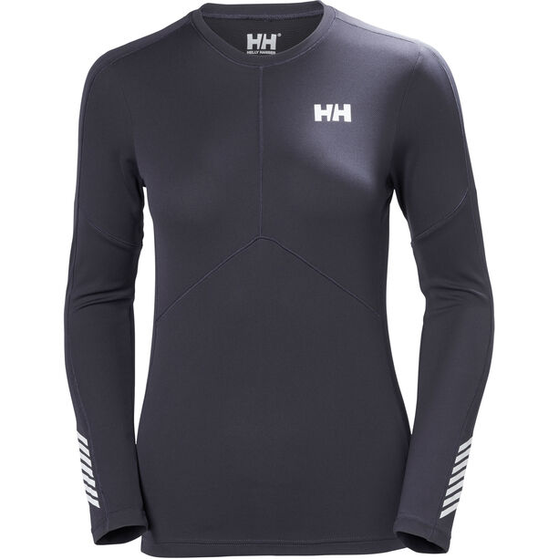 Helly Hansen Lifa Active Light LS Shirt Dam graphite blue
