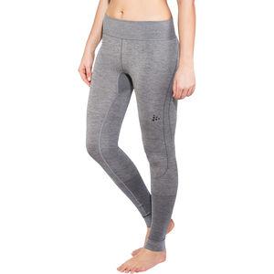 Craft Fuseknit Comfort Pants Dam dk grey melange dk grey melange