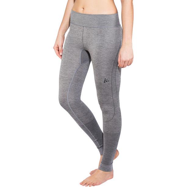 Craft Fuseknit Comfort Pants Dam dk grey melange