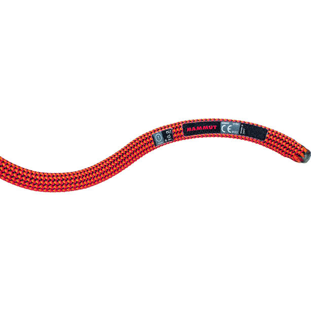 Mammut 10.2 Gravity Dry Rope 50m fire-black