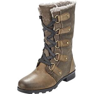 Sorel Emelie Lace Boots Dam major/black major/black