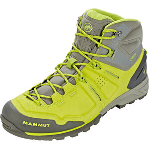 Mammut Alnasca Pro Mid GTX Shoes Herr sprout-grey sprout-grey