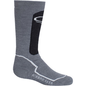 Icebreaker Snow Medium OTC Socks Barn twister heather-jet heather-snow twister heather-jet heather-snow