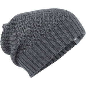 Icebreaker Skyline Slouch Beanie Gritstone Heather Gritstone Heather