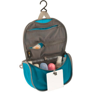 Sea to Summit Travelling Light Hanging Toiletry Small blue/grey blue/grey