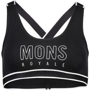Mons Royale Stella X-Back Bra Dam black black
