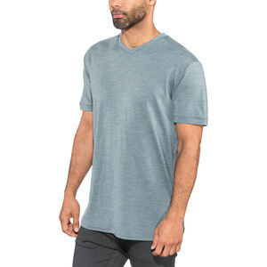 Alchemy Equipment 180GSM Merino V Tee Herr smokey blue marle smokey blue marle