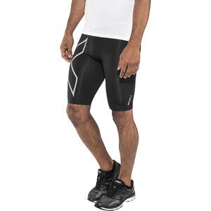 2XU Run Compression Shorts Herr Black/Silver Reflective Black/Silver Reflective