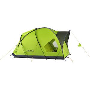 SALEWA Alpine Hut IV Tent cactus/grey cactus/grey