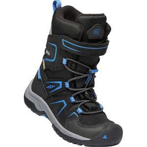 Keen Levo WP Winter Shoes Barn black/baleine blu black/baleine blu