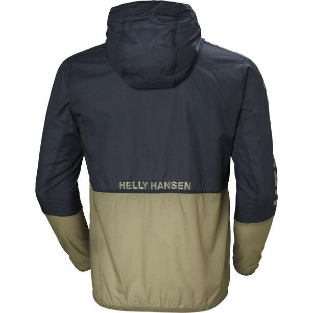 Helly Hansen Active Windbreaker Jacket Herr graphite blue
