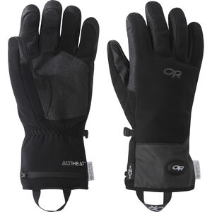 Outdoor Research Gripper Heated Sensor Gloves Black Black