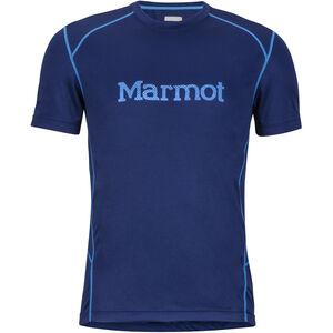Marmot Windridge SS Shirt with Graphic Herr arctic navy/french blue arctic navy/french blue