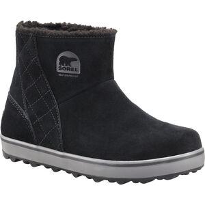 Sorel Glacy Short Boots Dam black/shark black/shark