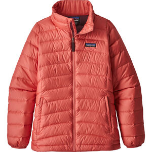 Patagonia Down Sweater Girls Barn spiced coral spiced coral