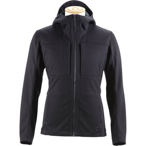 Alchemy Equipment Laminated Softshell Hoody Herr black black