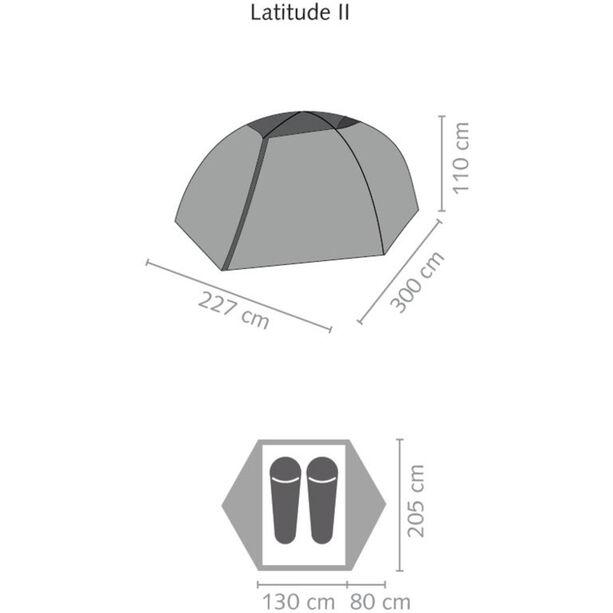 SALEWA Latitude II Tent cactus/grey