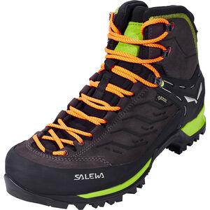 SALEWA MTN Trainer Mid GTX Shoes Herr black/sulphur spring black/sulphur spring
