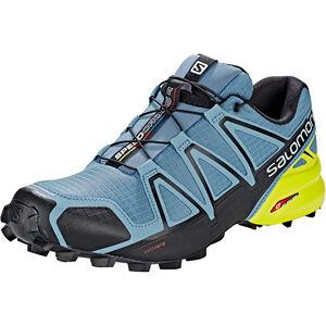 Salomon Speedcross 4 Shoes Herr bluestone/black/sulphur spring bluestone/black/sulphur spring