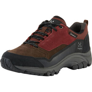 Haglöfs Skuta Low Proof Eco Shoes Dam Maroon Red/Barque Maroon Red/Barque