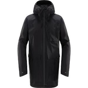 Haglöfs Nusnäs 3L Jacket Herr true black true black