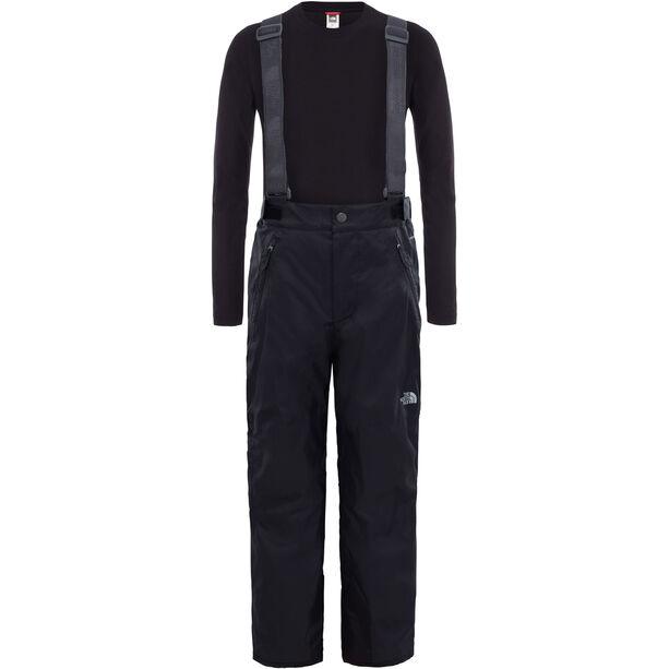 The North Face Snowquest Suspender Plus Waterproof Pants Barn black