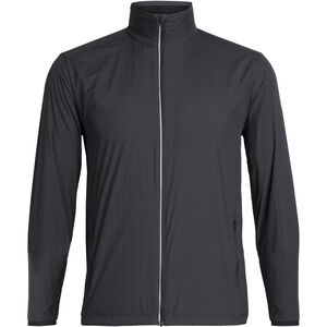 Icebreaker Incline Windbreaker Jacket Herr Black Black