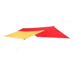 Helsport Bitihorn X-Trem Tarp 4,35x4,35m red/yellow red/yellow
