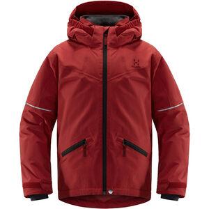 Haglöfs Niva Insulated Jacket Ungdomar Brick Red Brick Red