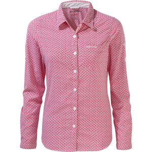 Craghoppers NosiLife Verona Long Sleeved Shirt Dam winter rose winter rose