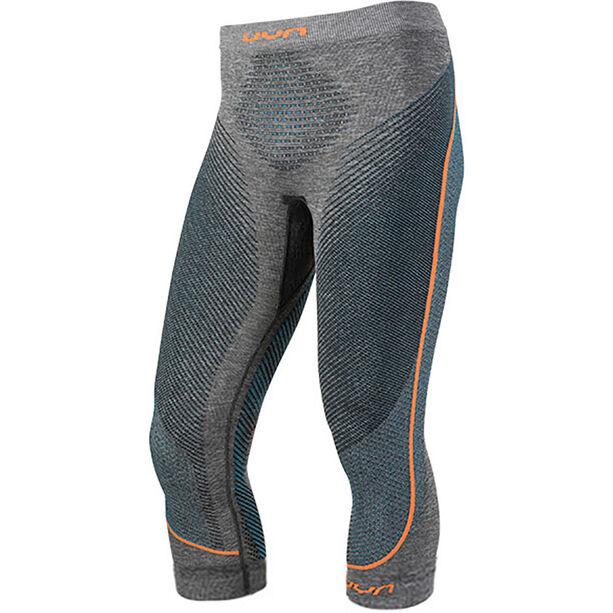 UYN Ambityon Melange UW Medium Pants Herr black melange/atlantic/orange shiny