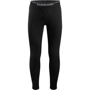 Icebreaker Oasis w/Fly Leggings Herr black black