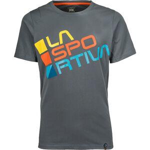 La Sportiva Square T-shirt Herr slate slate