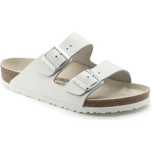 Birkenstock Arizona Sandals Smooth Leather Dam White White