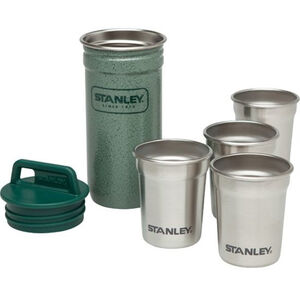Stanley Adventure SS Shot Glass Set hammertone green hammertone green