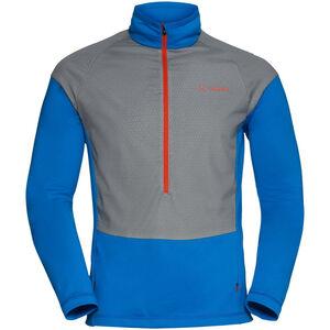 VAUDE Bormio Half Zip Hybrid Pullover Herr hydro blue hydro blue