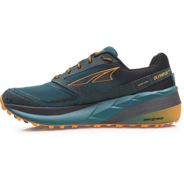 Altra Olympus 3.5 Trail Running Shoes Herr green/orange