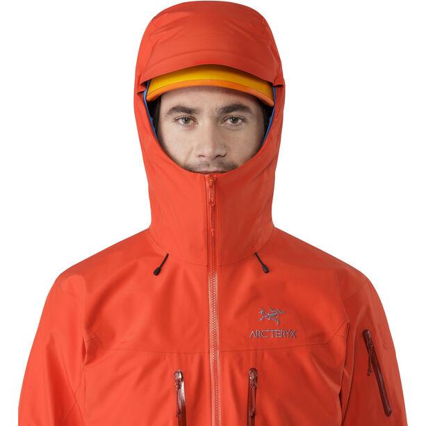 Arc'teryx Alpha SV Jacket Herr cardinal