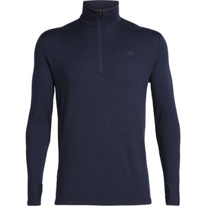 Icebreaker Original LS Half Zip Shirt Herr Midnight Navy Midnight Navy