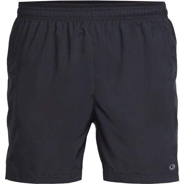 Icebreaker Strike Lite Shorts Herr black/black