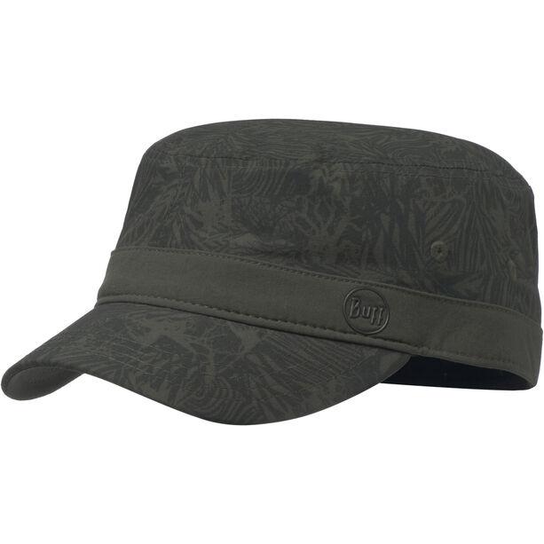Buff Military Cap checkboard moss green