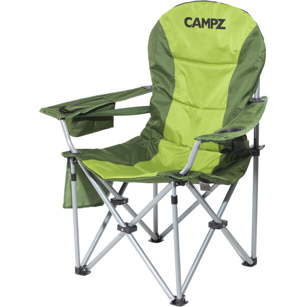 CAMPZ Deluxe Arm Chair green