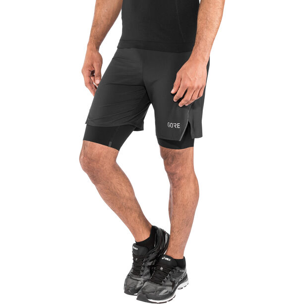 GORE WEAR R7 2in1 Shorts Herr black