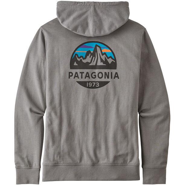 Patagonia Fitz Roy Scope Lightweight Full Zip Hoody Herr feather grey