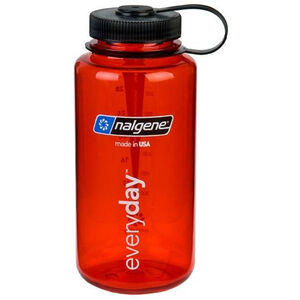 Nalgene Wide Mouth Bottles 1l red tritan red tritan