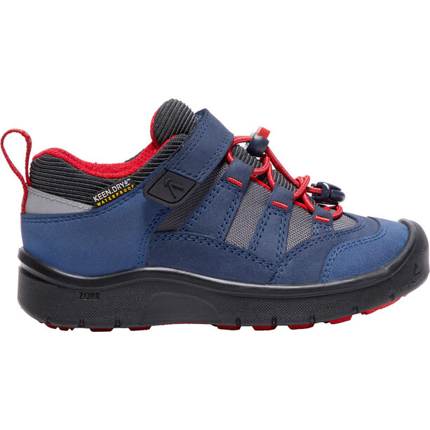 Keen Hikeport WP Shoes Barn dress blues/firey red